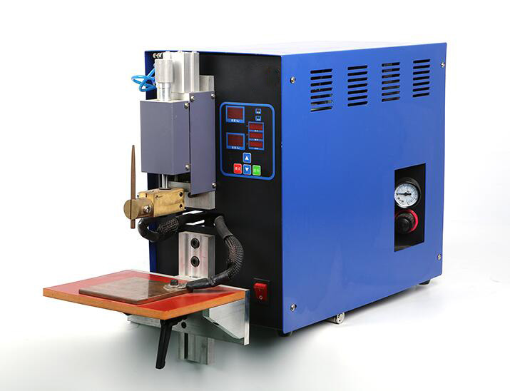 Pneumatic Battery Spot Welder Machine for 18650 Cylinder Cell Welding