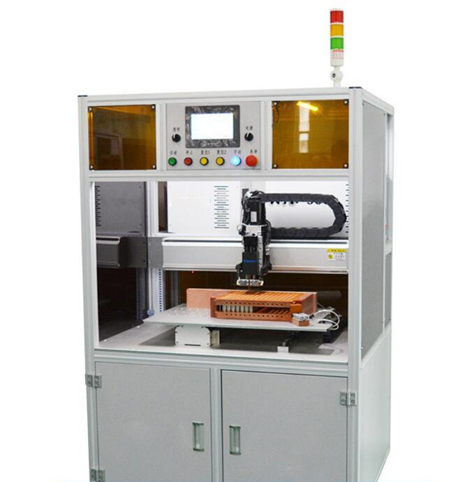 Automatic CNC 18650 Battery Spot Welding Machine for Cylinder Cell