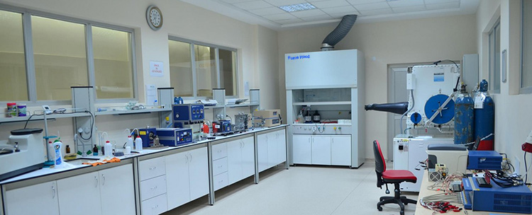 Battery Lab Line Equipment for Reseach Institute in Turkey
