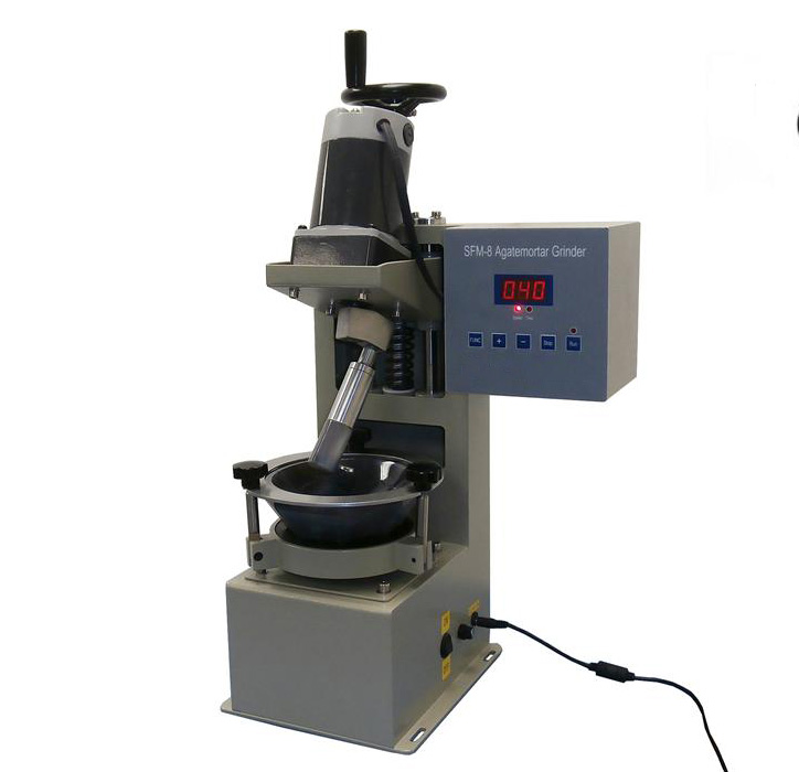 Automatic Desktop Grinder Machine with Agate Mortar for Lab Research