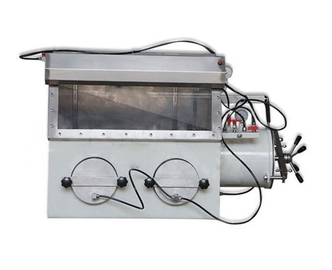 Compact Stainless Steel Vacuum Glove Box