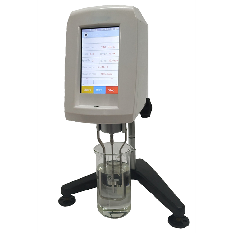 Digital Touch Screen Viscometer for Battery Slurry Checking Before Coating