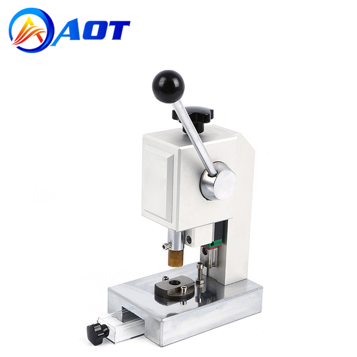 Precision Coin Cell Disc Cutter with 8-24mm Optional Cutting Die