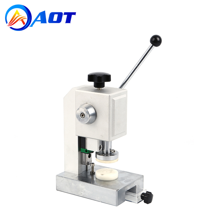 Precision CR20XX Coin Cell Disc Cutter Machine for Battery Separator Round Discs Cutting