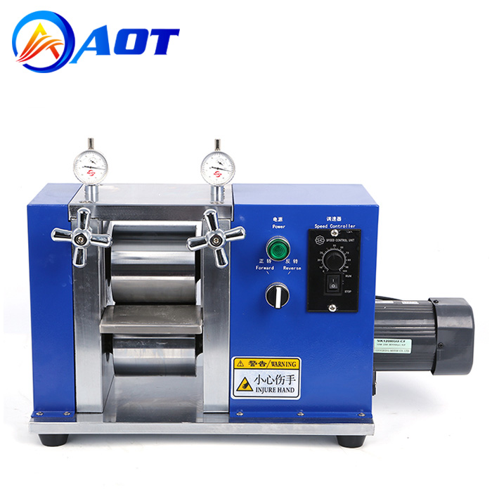 150mm Electric Roller Press Machine for Battery Electrode Calendering