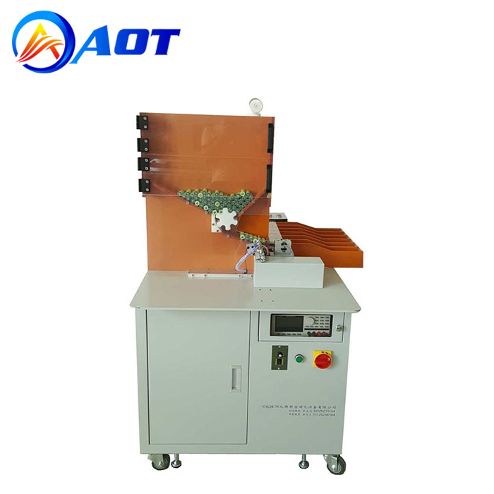 5 OK Channels Automatic Cylindrical Battery Sorting Machine for 18650 Cells
