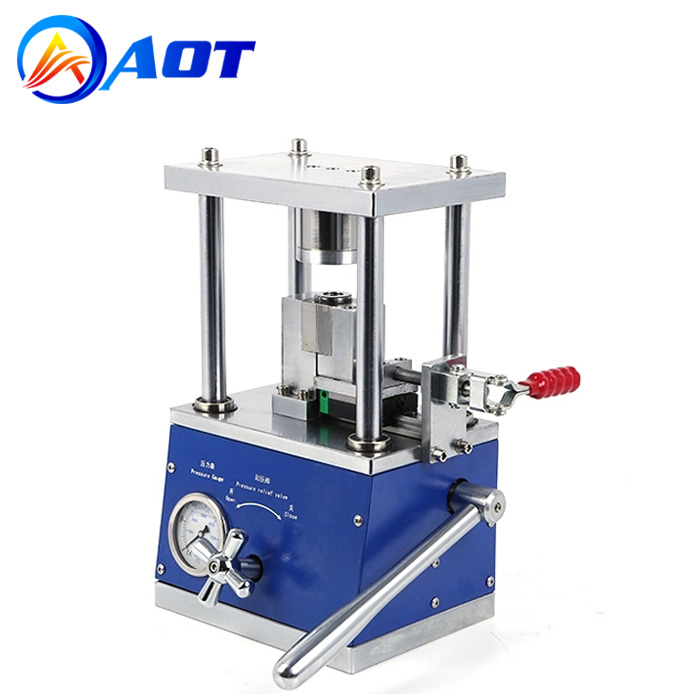 Compact Hydraulic Sealing Machine for 18650 26650 21700 32650 Cases