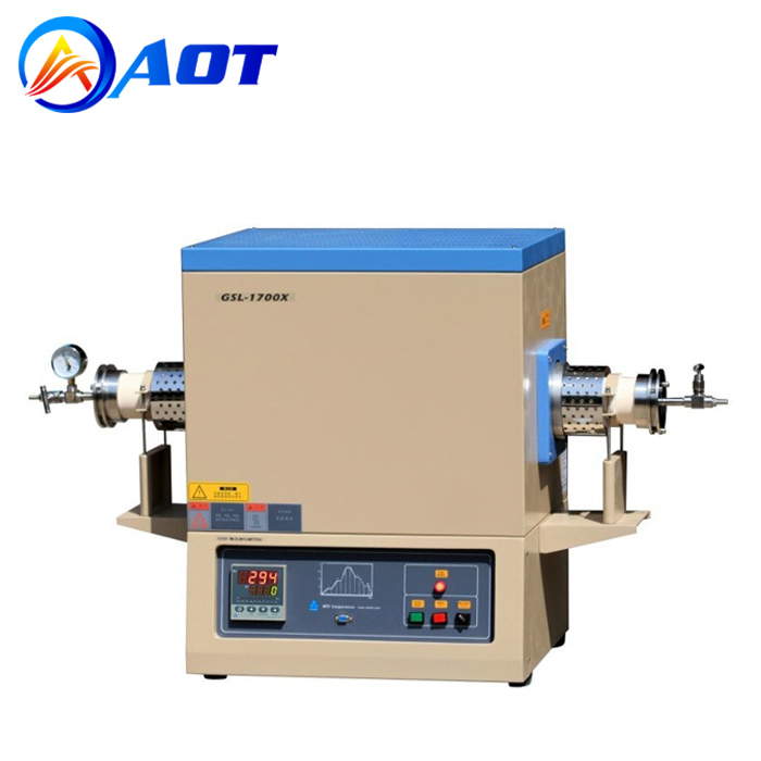 1750C Vacuum Tube Furnace for Laboratory Material Burning