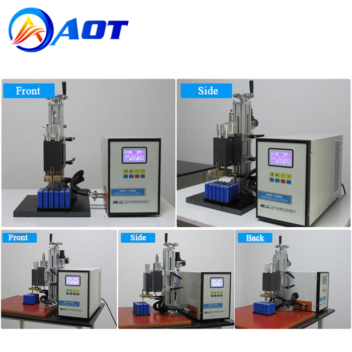 0.5mm Manual Spot Welding Machine for Battery Pack