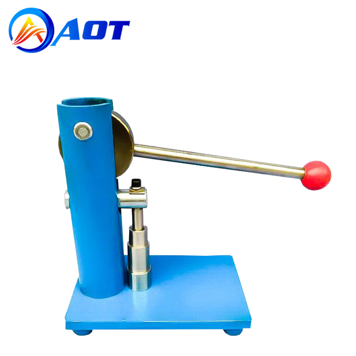 Lab Compact Hand Punch Powder Press Machine for Tablet Making