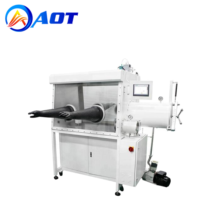 Double Gloves Glove Box with Purification System for Lithium Battery Industry