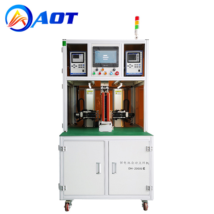 Automatic Double-Side Spot Welding Machine for 18650 Battery Pack