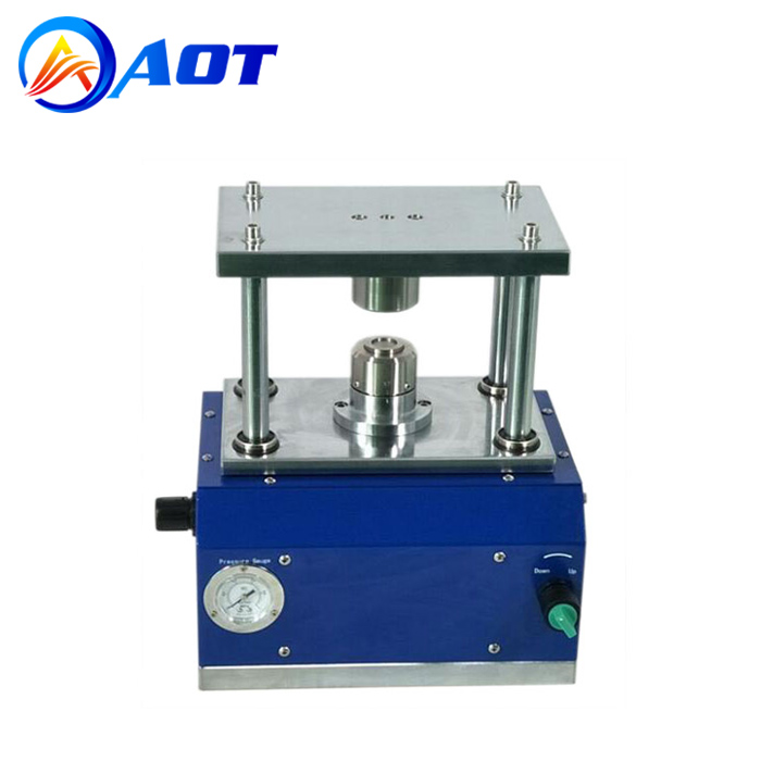 Pneumatic Coin Cell Crimping Machine for Li-ion Battery Lab Research