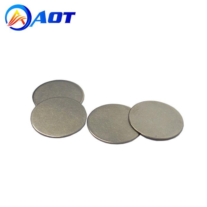 Best Price Stainless Steel CR2032 Coin Cell Spacer for Lab Battery Assembly