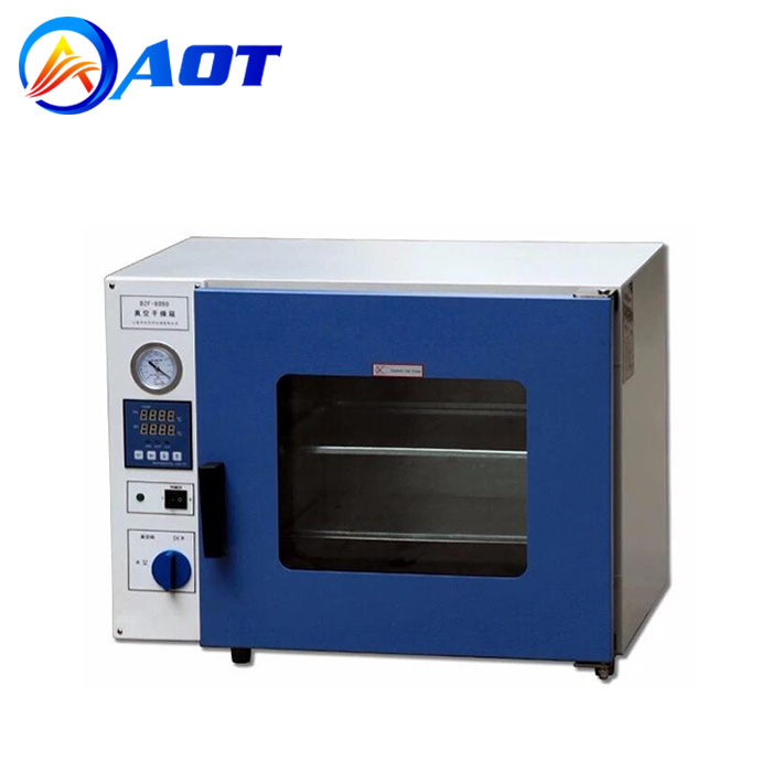 Small Lab Vacuum Drying Oven Electric Heating Chamber DZF-6050