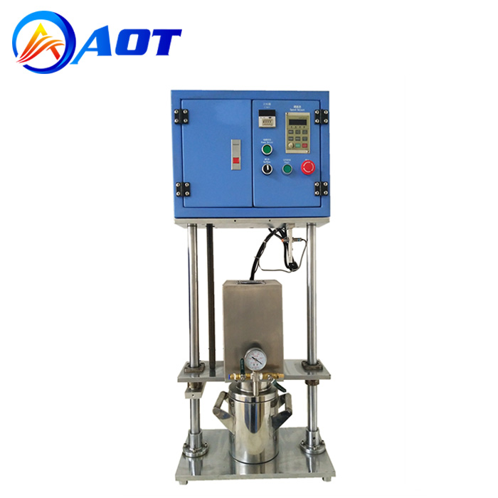 2L Helical Blade Vacuum Mixing Machine for Battery Slurring Making