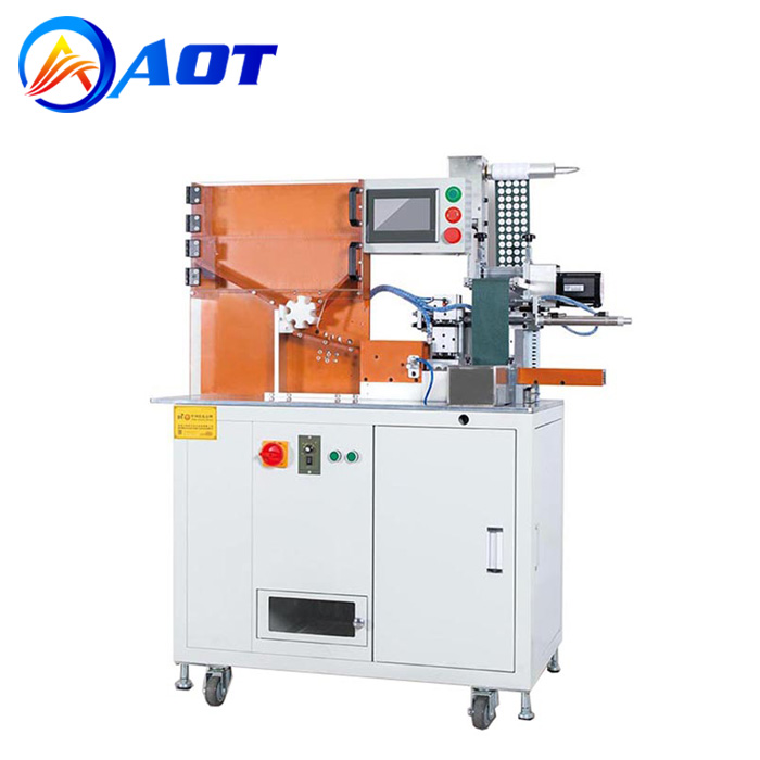 18650 Automatic Insulation Paper Sticking Machine for Battery Pack Assembly