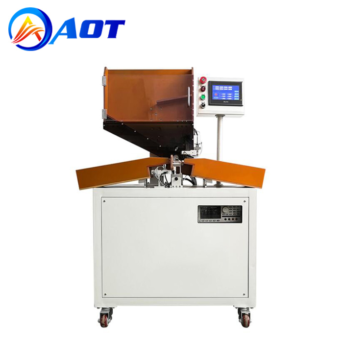 5-Channel Automatic Cylindrical Cell Sorting Machine for Lithium Battery Pack Manufacturing