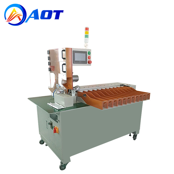 11-Channel Automatic Cylindrical Battery Sorting Machine for Battery Pack Line