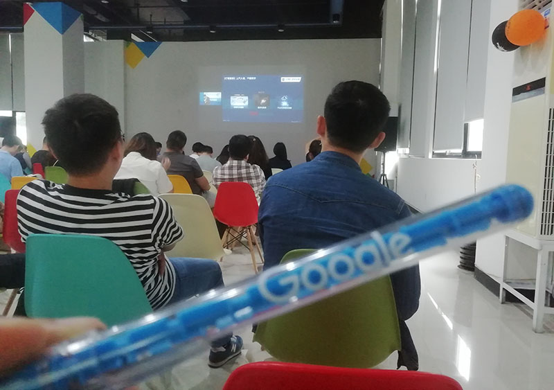 Google B2B Foreign Trade Training of Digital Economy AOT battery Company